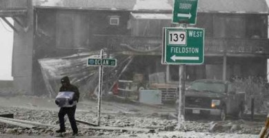 US North Eastern Snow Blizzard
