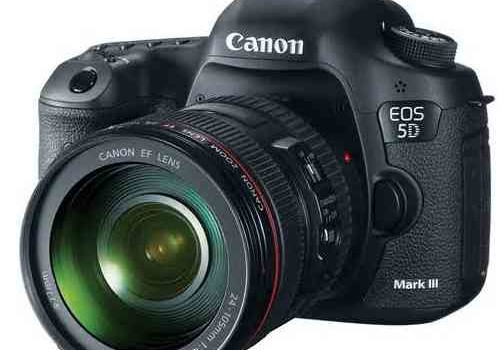 Canon EOS 5D DSLR Camera