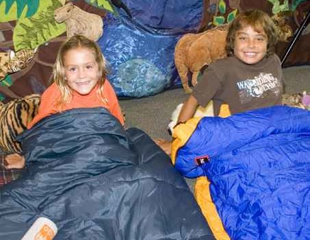 Denver Zoo kids sleepover activity