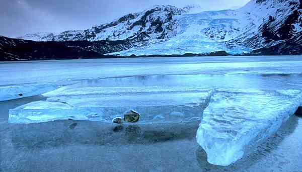 Iceland smallest glacier