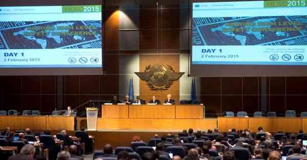 International Civil Aviation Organization global safety meeting