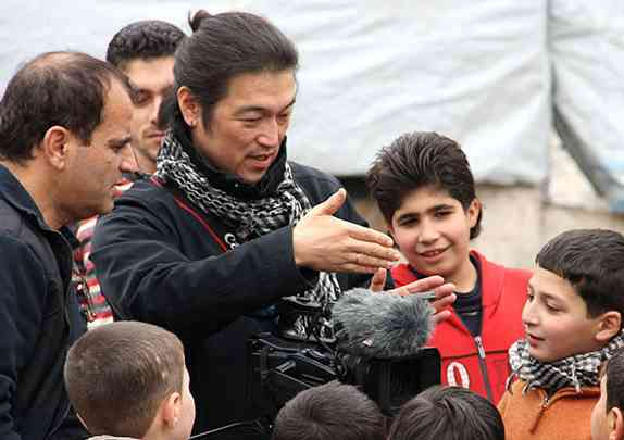 Kenji Goto In Syria
