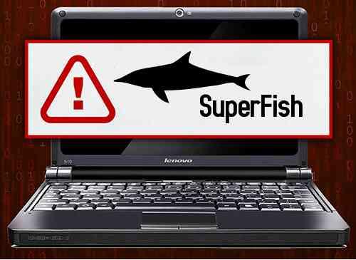 Lenovo Superfish Malware Laptop