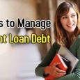 Manage Student Loan Debt