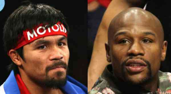 Manny Pacquiao and Floyd Mayweather fight