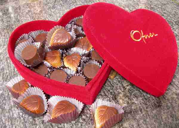Valentine's Day Chocolate Gift