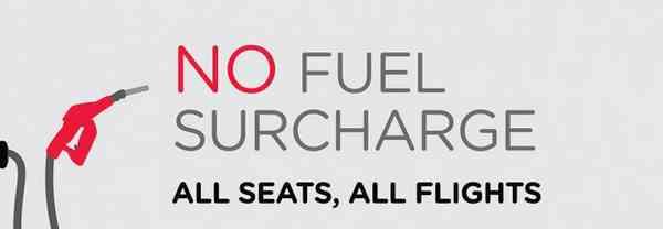 AirAsia No Fuel Surcharge