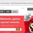 Club Nintendo Program Discontinuation