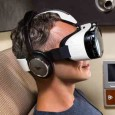 Samsung inflight virtual reality headset