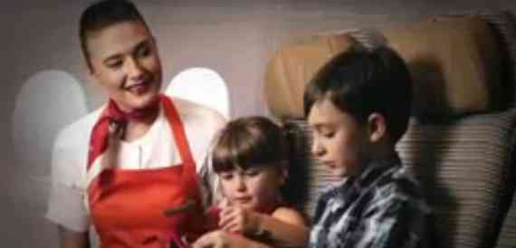 Air Etihad Flying Nanny