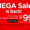 AirAsia Mega Sale Promotion March 2015