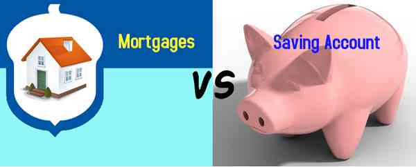 Mortgages VS Saving Account
