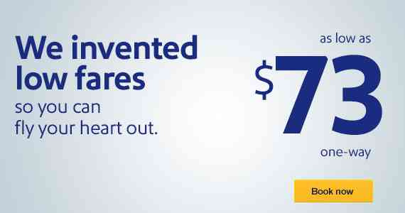 Southwest Airlines Spring Break Deals