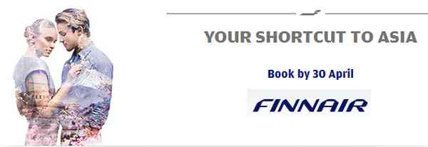 Finnair Low Fares Deals To Asia
