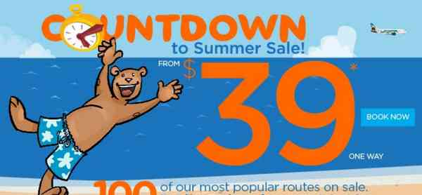 Frontier Airlines Summer Sale