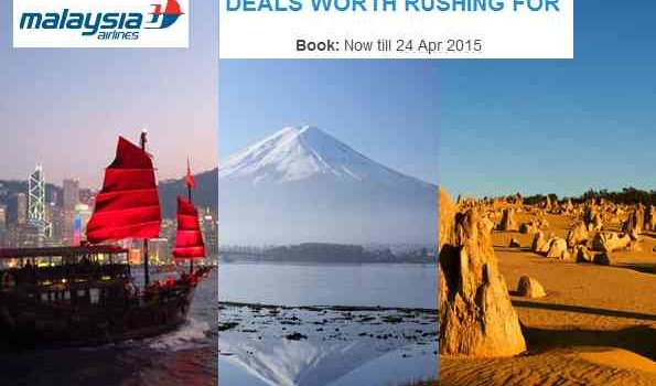 Malaysia Airlines Worldwide Airfare Deals