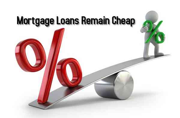 Mortgage Loans Remain Cheap
