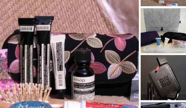 Top Five Airline Luxury Amenity Kits