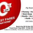 AirAsia Half Price Promotion