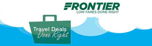 Frontier Summer Airfare Sale