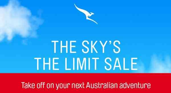 Qantas Domestic Flights Sale