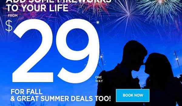 Frontier Airlines Fireworks Sale