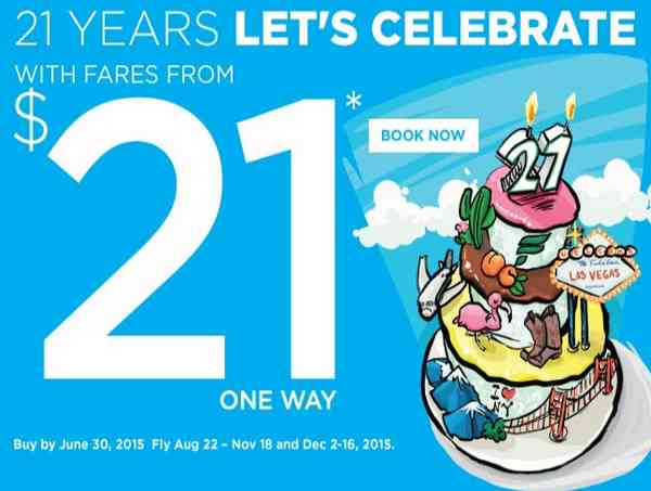 Frontier Birthday Sale From USD21