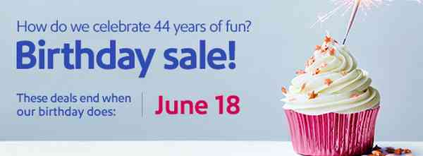 Southwest Airlines Birthday Sale