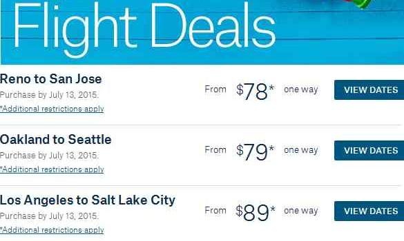 Alaska Airlines Summer Flights Sale