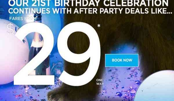 Frontier Birthday After Party Deals