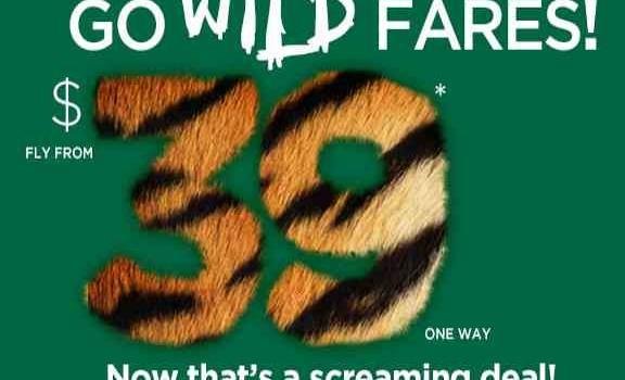 Frontier Go Wild Fares Sale