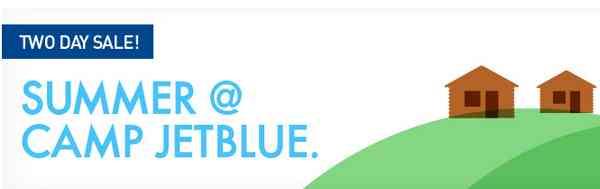 JetBlue 2 Day Sale