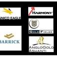 Stocks Update - GFI, ABX,AU,HMY,AEM