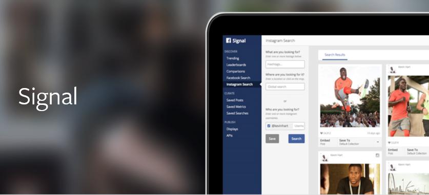 Facebook-Signal New Tool