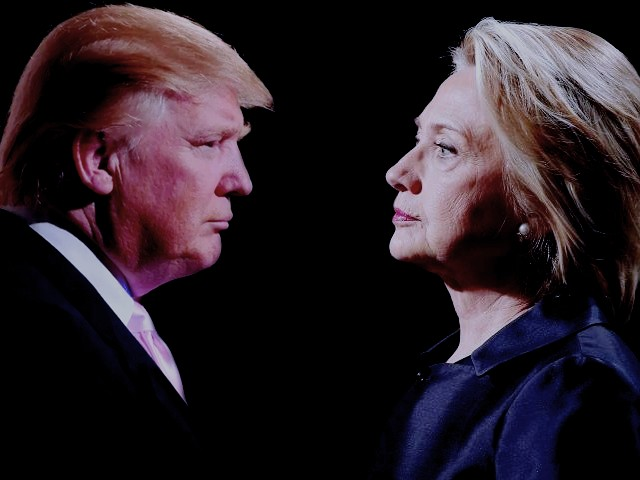 hillary and trump
