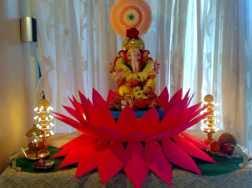 Ganesh Chaturthi Decoration Ideas for Year 2016