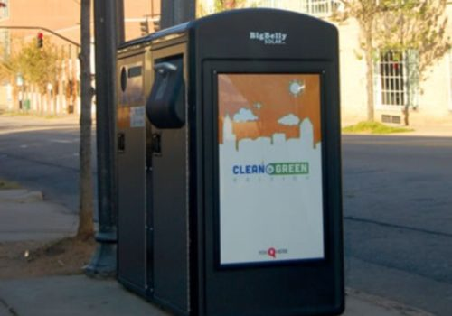 Smart City Using Smart Garbage Bins