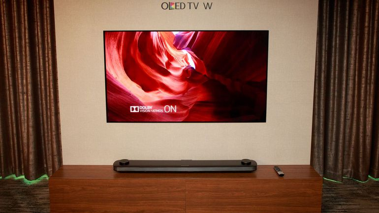 LG OLED W Series TV Launch In 2017