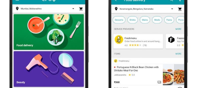 Google Secretly Launched A Home Service And Food Delivery App In India
