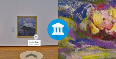 Art Search Goes a Level Up With Better Indoor Street View Experiences