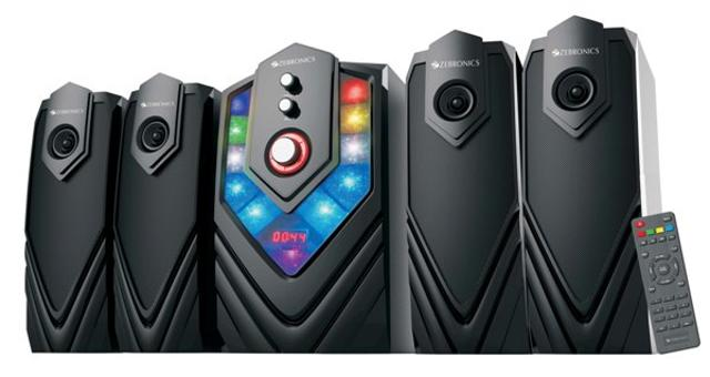 Zebronics Rolls Out Mambo 4.1 Speakers
